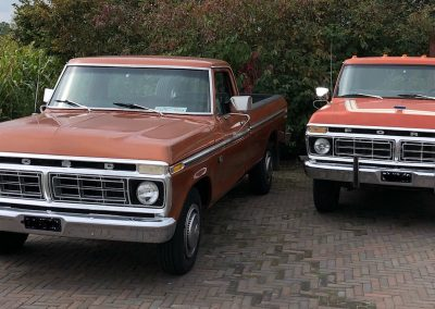 1975 Ford F-250 & 1976 Ford F-350